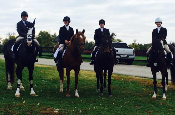 Buck and the Winning Team!